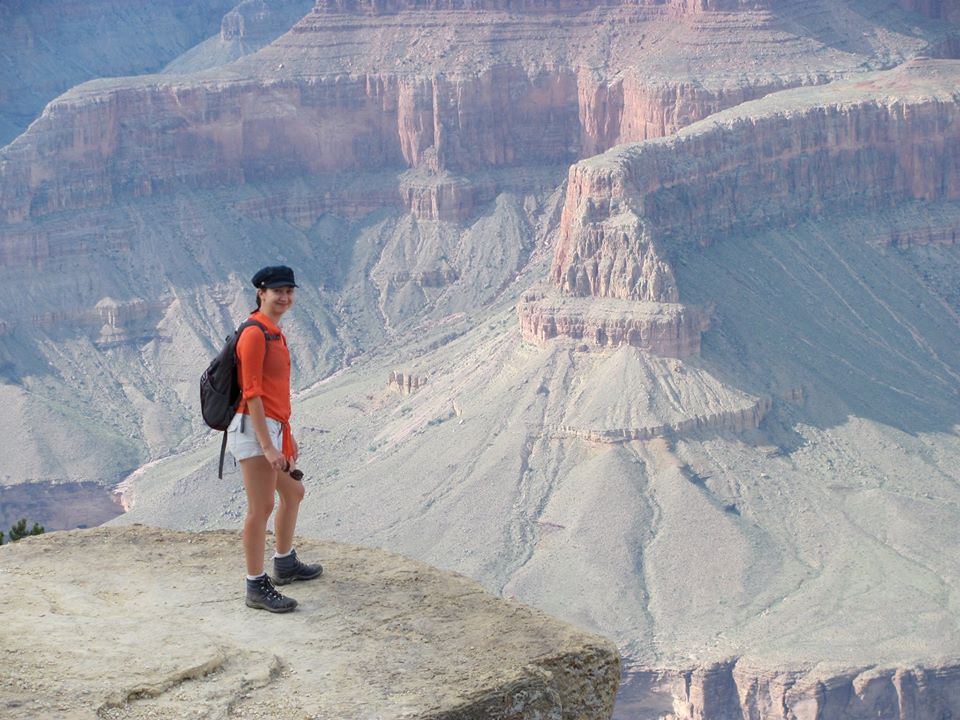 grand canyon vista from the past decade