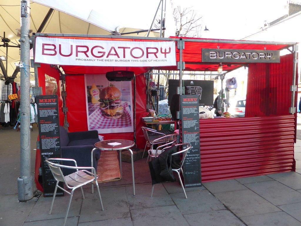 Burgatory burger stand