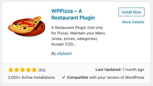 restaurant menu plugin for wordpress