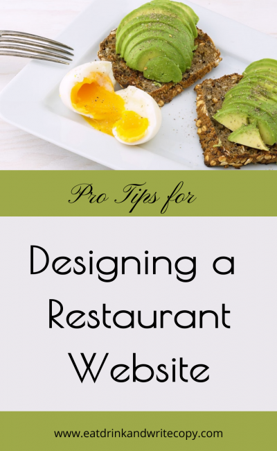 Designing a Restaurant Website Pin 1